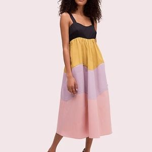 Kate Spade New York Scallop Color Block Dress